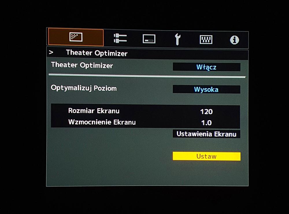 jaki projektor kinowy