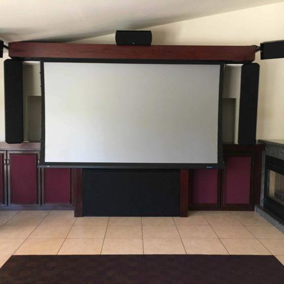 pokój kinowy najlepszego akustyka