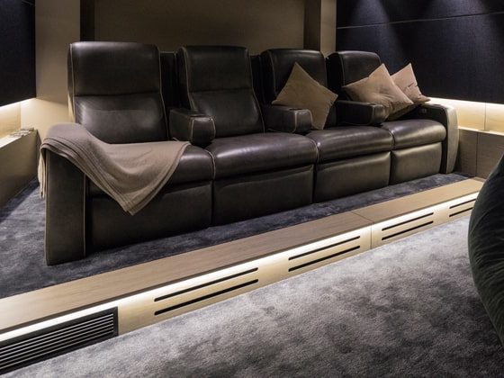 podłoga w kinie